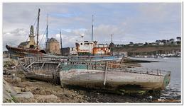 Cimetière bateaux à Camaret-sur-Mer-0001