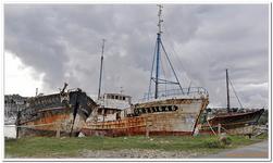 Cimetière bateaux à Camaret-sur-Mer-0014